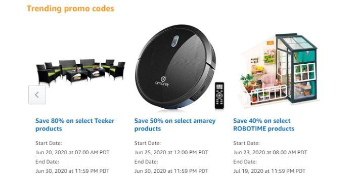 Amazon coupon code
