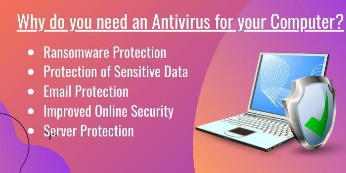 why antivirus is improtant