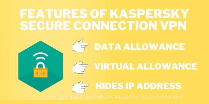 Features of Kaspersky Secure Connection