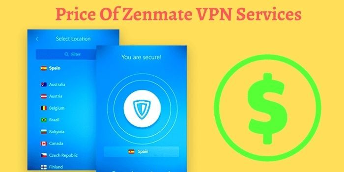 Price Of Zenmate VPN Services
